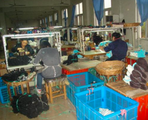 A level 2 factory's production line