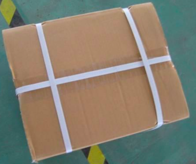 Image result for plastic strapped box