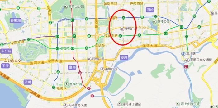 HuaQiangBei_Area_Shenzhen