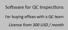 Software for QC Inspections