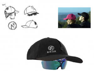 NAOX cap and sunglasses