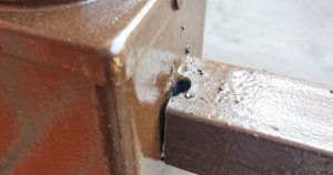 manufacturing defects like poor welding