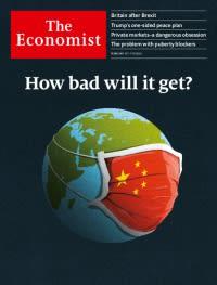 Economist corona virus cover