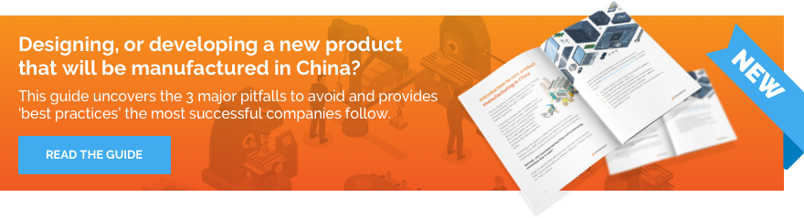 Designing or developing a new product that will be manufactured in China?