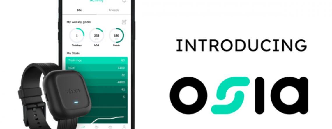 ahera osia band and smartphone app