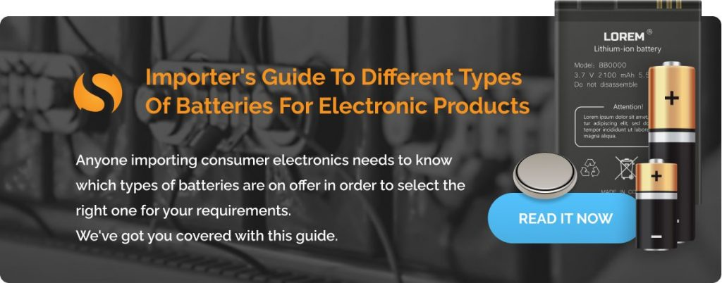 Sofeast Different Types Of Batteries For Electronic Products (Importer's Guide)